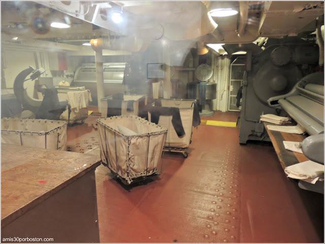 Lavandería del USS Massachusetts