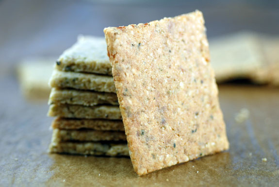 Almond Hemp Crackers Guiding Instincts