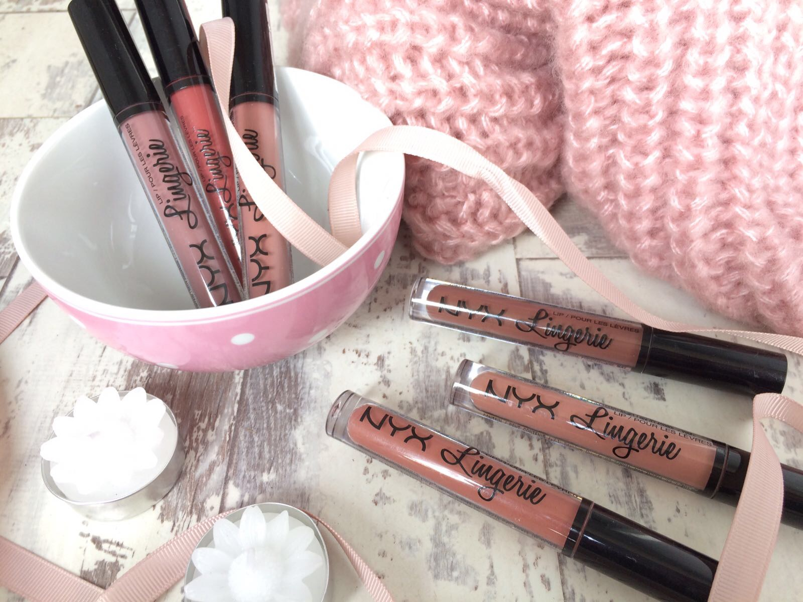 Image of NYX Lip Lingerie Liquid Lipsticks