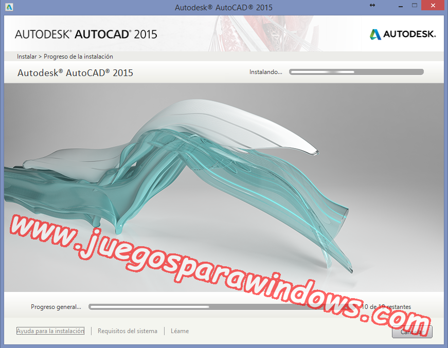 AutoCAD 2015 Full PC ESPAÑOL INGLES 32 y 64 Bits (XFORCE) 5