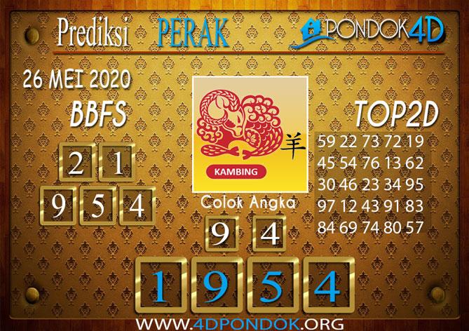 Prediksi Togel PERAK PONDOK4D 26 MEI 2020