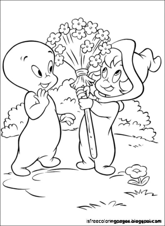 Download Casper Coloring Pages   Free Coloring Pages