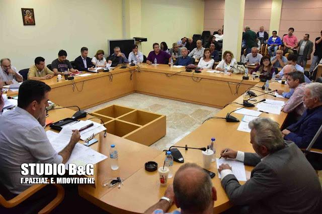 Συνεδριάζει το Δημοτικό Συμβούλιο στο Ναύπλιο στις 4 Σεπτεμβρίου