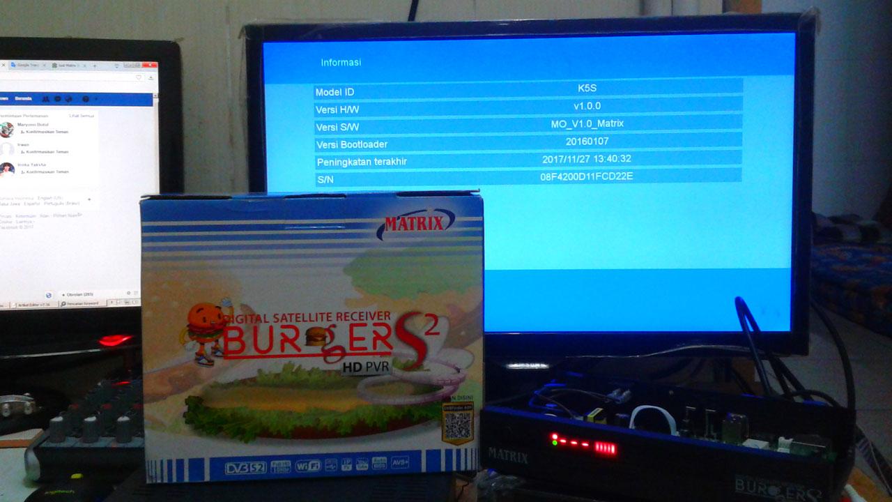 Spesifikasi dan Harga Matrix Burger S2 K5S Terbaru