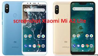 Cara membuat screenshot Xiaomi Mi A2 Lite