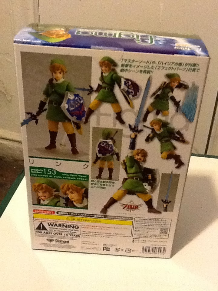 Legend of Zeldas Link: Figma figure (review) | Geekatron: These are