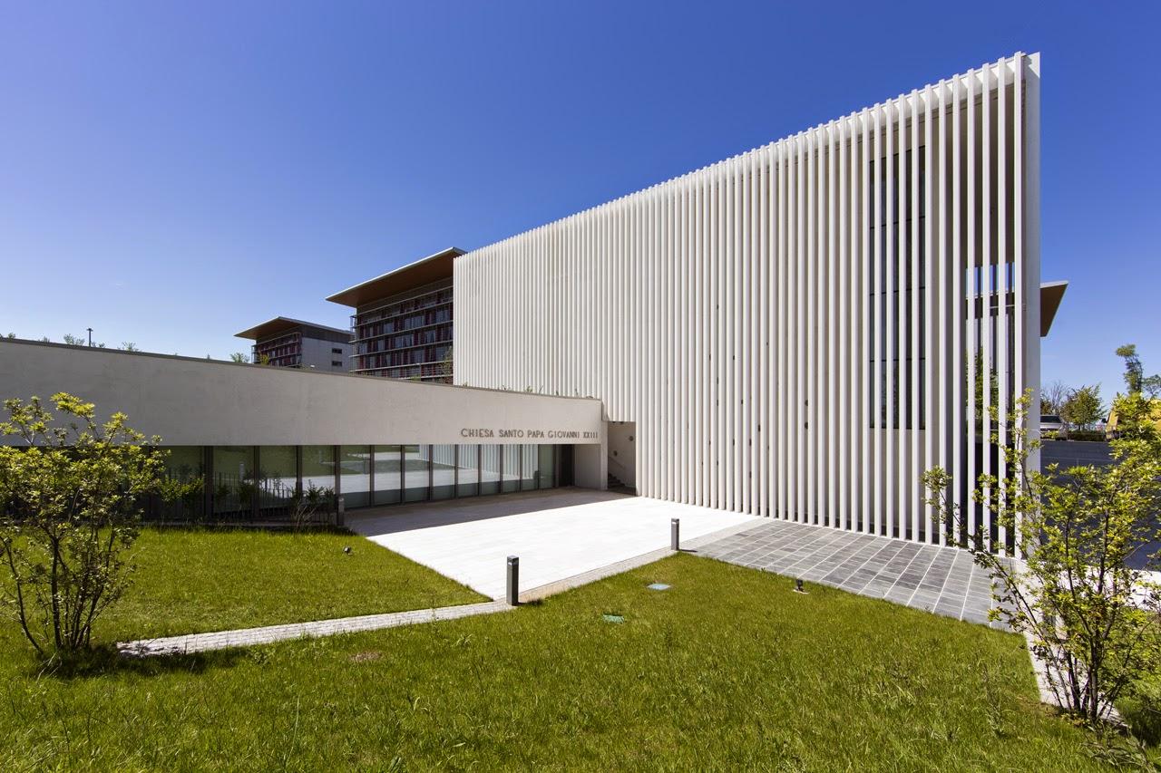 Architetti A Bergamo das andere: zublena traversi - chiesa a bergamo