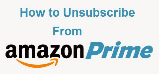How to Unsubscribe From Amazon Prime : eAskme