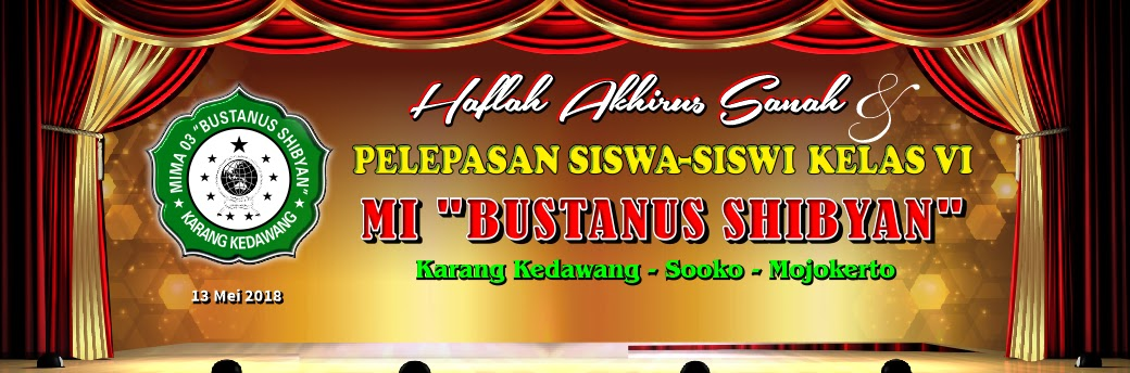 Banner Pelepasan Siswa kelas 6