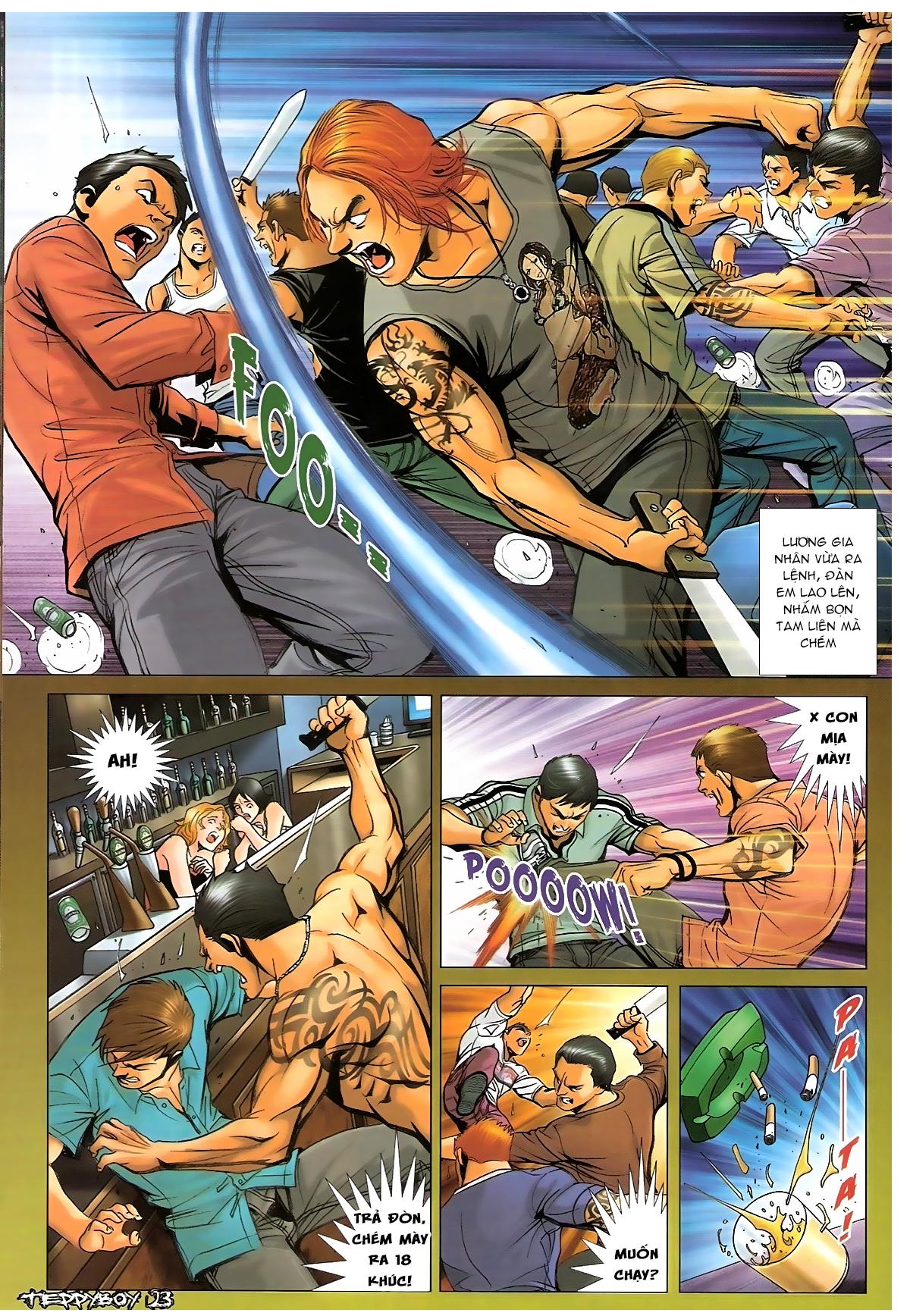 Người Trong Giang Hồ - Chapter 1327: Đàn ông đích thực - Pic 19