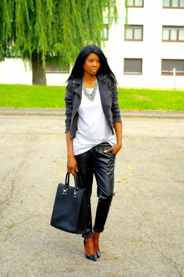 style rock chic femme. Black Bedroom Furniture Sets. Home Design Ideas