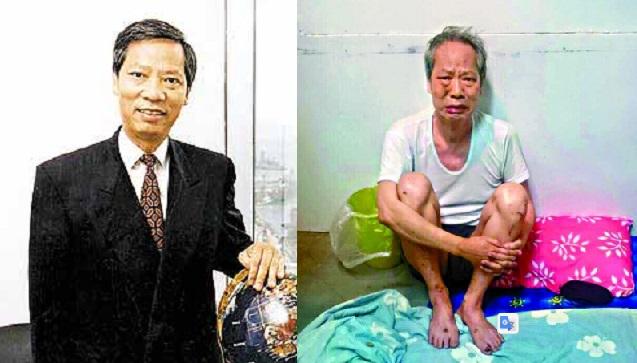 Wong Yuk-Kwan khi được giải cứu