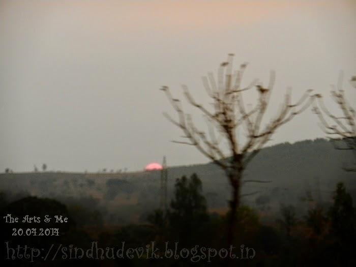 Sunset @ Belagavi (Belgaum, Karnataka, India)