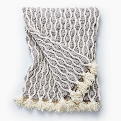 Beautiful Skills Crochet Knitting Quilting Trellis Tassels