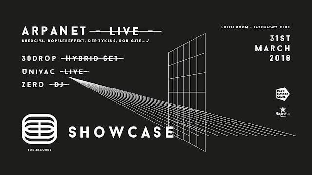 ARPANET live / 30DROP / UNIVAC live / ZERO - LoLiTa [31Mar2018]