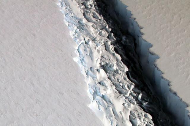 Αν λιώσουν όλοι οι πάγοι τότε η στάθμη της θάλασσας θα ανέβει κατά 65 ολόκληρα μέτρα!