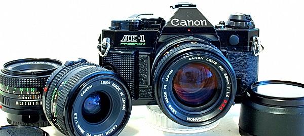 Canon AE-1 Program 35mm SLR Camera