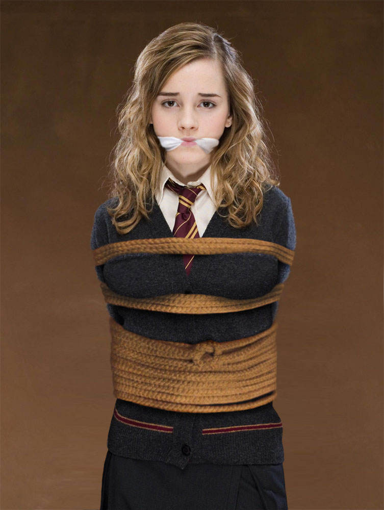 Apologise, but, hermione granger bondage pics from