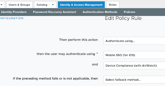 Configuring Mobile SSO For iOS In Workspace One UEM (AirWatch)