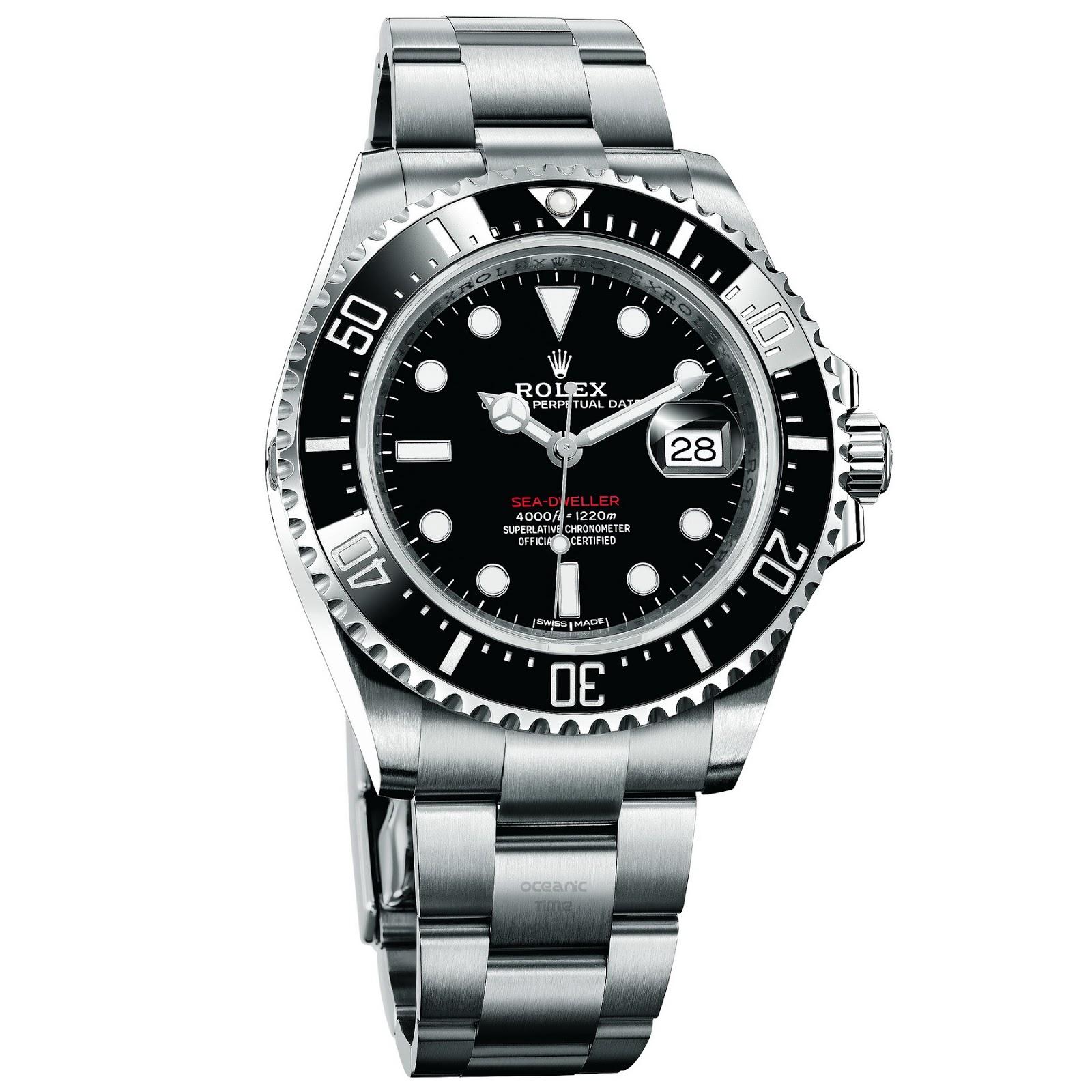 Oceanictime rolex sea dweller ref 126600 for Rolex sea wweller