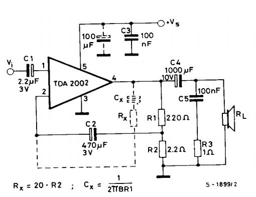 tda2002 audio ammplifier 10w