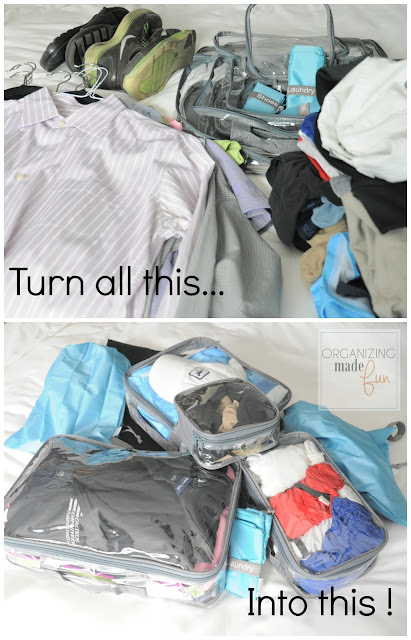 Pack all this into EzPacking cubes easily :: OrganizingMadeFun.com