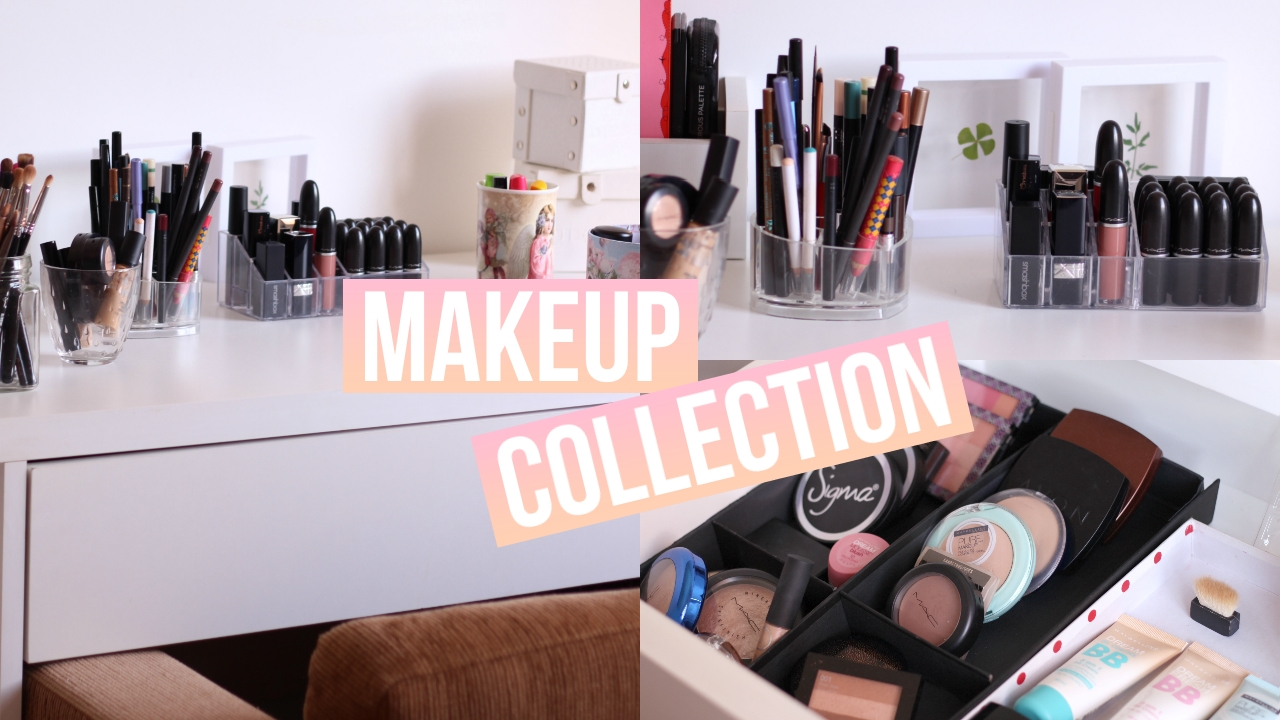 My Small Makeup Collection and Storage 2016