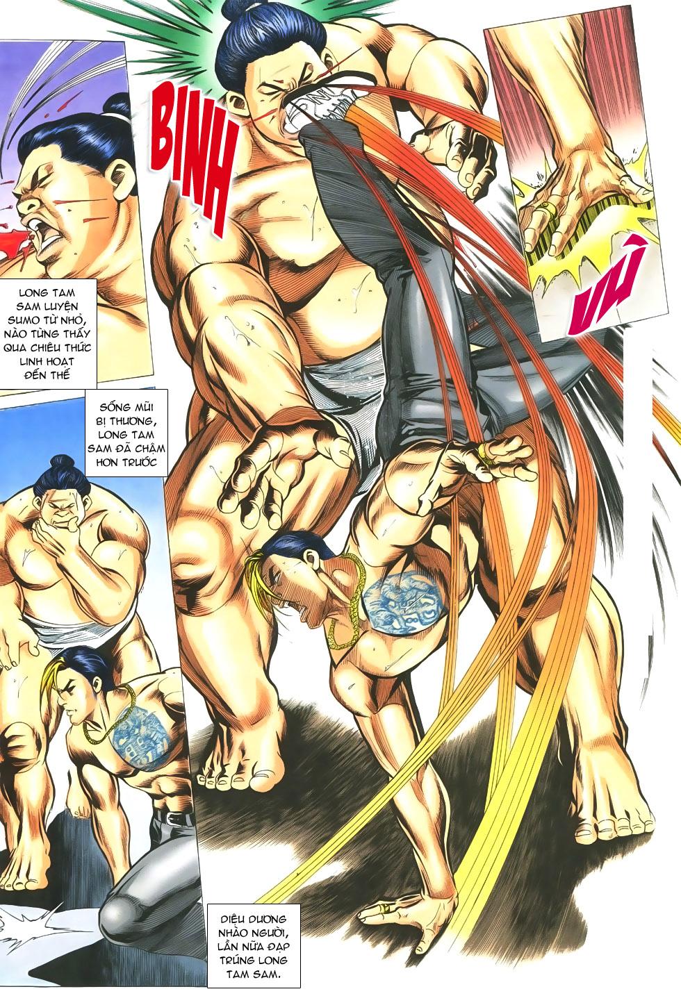 Người Trong Giang Hồ chapter 299 trang 11