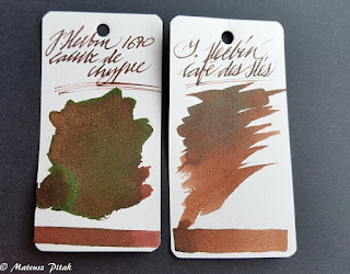 All Aboard The J. Herbin Ink Hype Train! Caroube de Chypre Sneak Peek