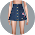 High Waist A-Line Skirt_하이 웨이스트 A라인 스커트_여자 의상
