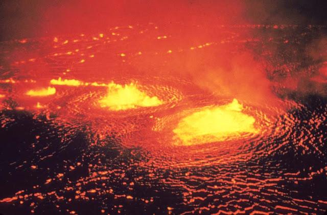 Caldeira do vulcão Kilauea