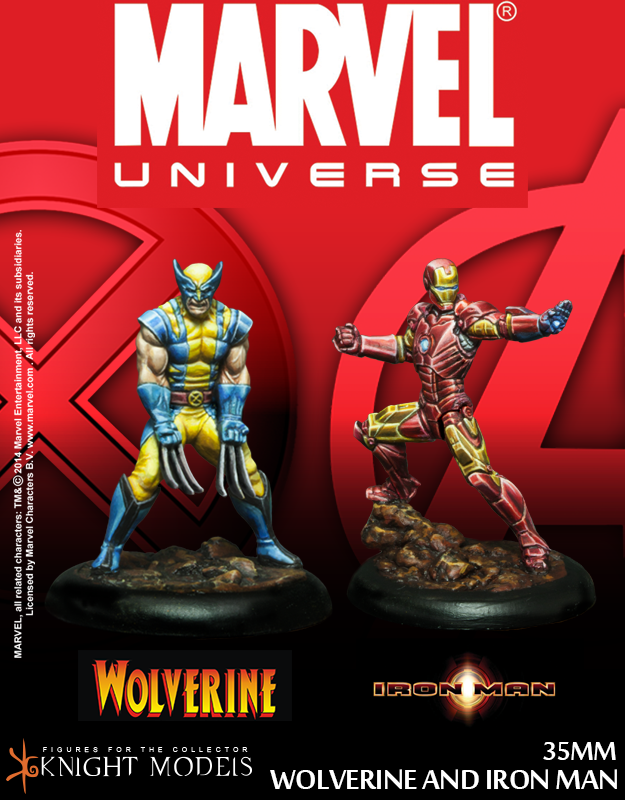WEB_MARVEL_WOLVERINE AND IRON MAN- minitaturas 30mm-miniaturas 35mm-miniaturas de marvel- lobezno- iron man
