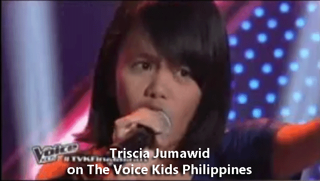Triscia Jumawid on The Voice Kids Philippines