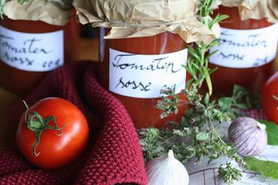 Tomatensoße selbstgemacht