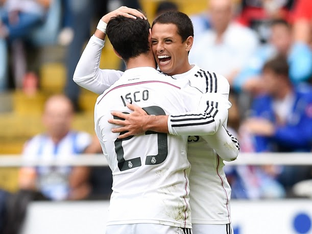 Despreocupa a 'Chicharito' futuro en el Madrid