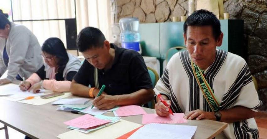 MINEDU elaborará cuadernos escolares en más lenguas originarias - www.minedu.gob.pe
