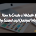 How to Create a Website Quickly and Easily Tutorial