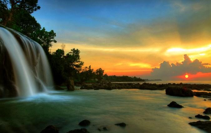 Lokasi Air Terjun Toroan Sampang