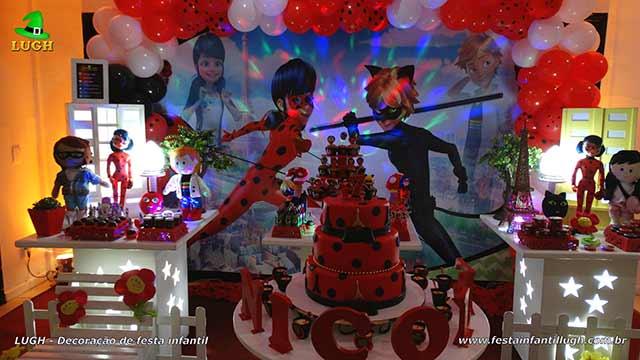 Ladybug - Decoração festa de aniversário infantil