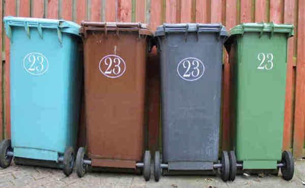 Clear cache - buang tong sampah
