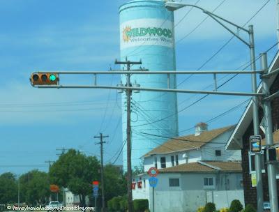 Water Tower in Wildwood New Jersey