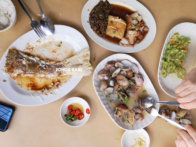 Seng Steam Fish Restaurant 成蒸鱼与肉骨茶 in Johor Bahru, Taman Sri Tebrau