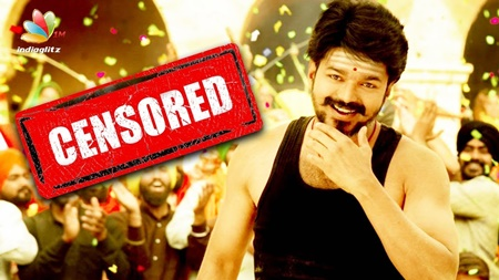 Vijay's Mersal Movie Censored | Samantha, Kajal Agarwal