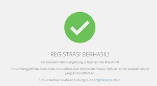 Cara Register Webmail Merahputih.id