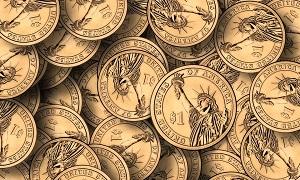 foto dei dollari negli usa
