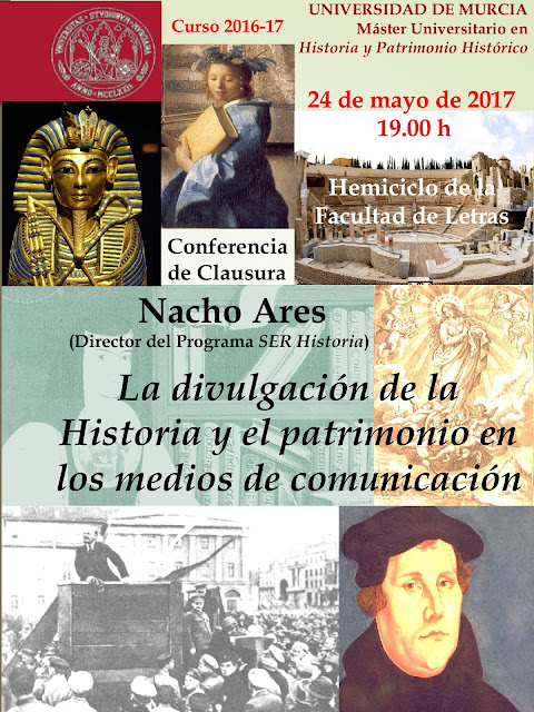 Clausura del Máster Universitario en Historia y Patrimonio Histórico.