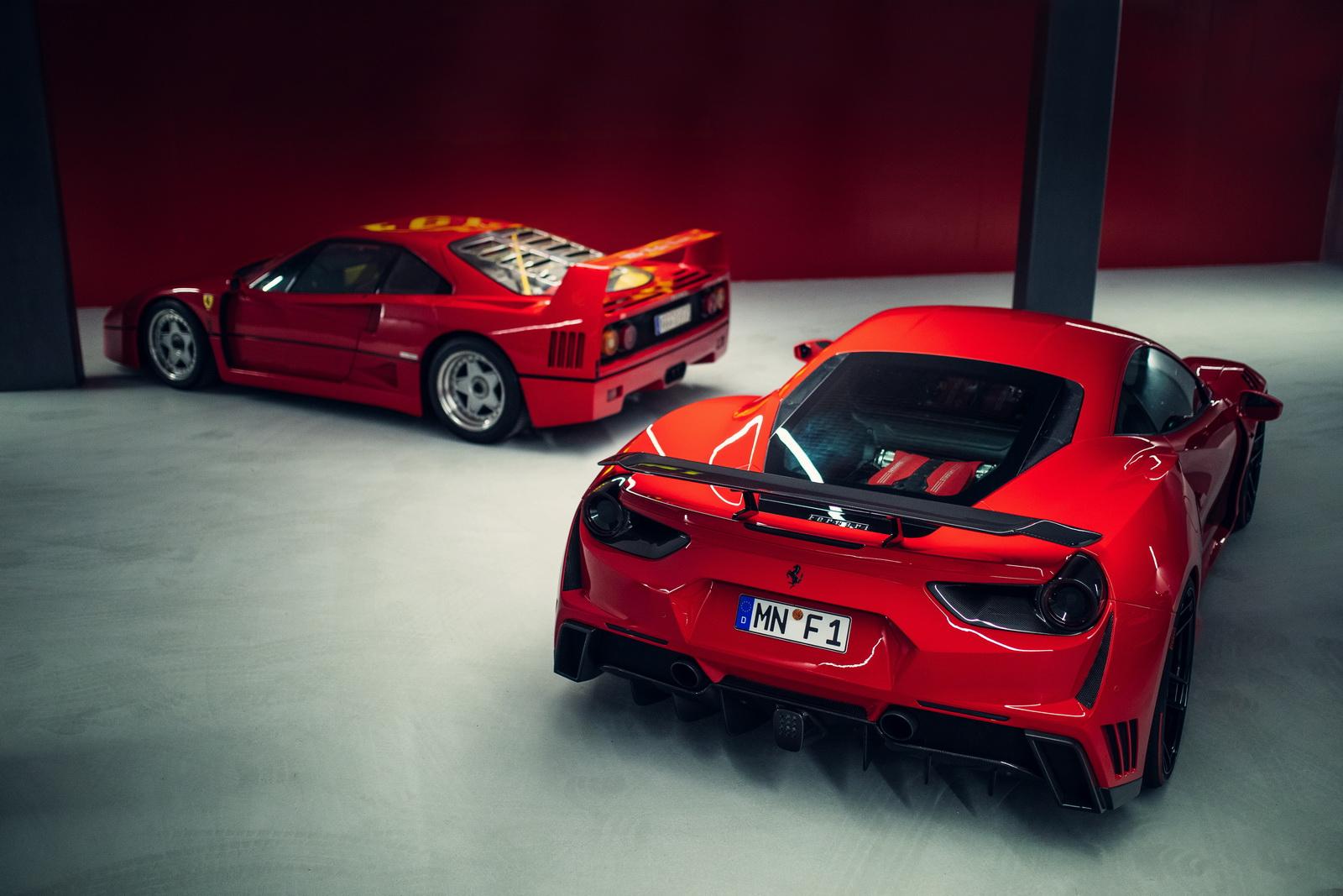 Novitec Gives Ferrari 488 A Wide Body And 772 Horses W