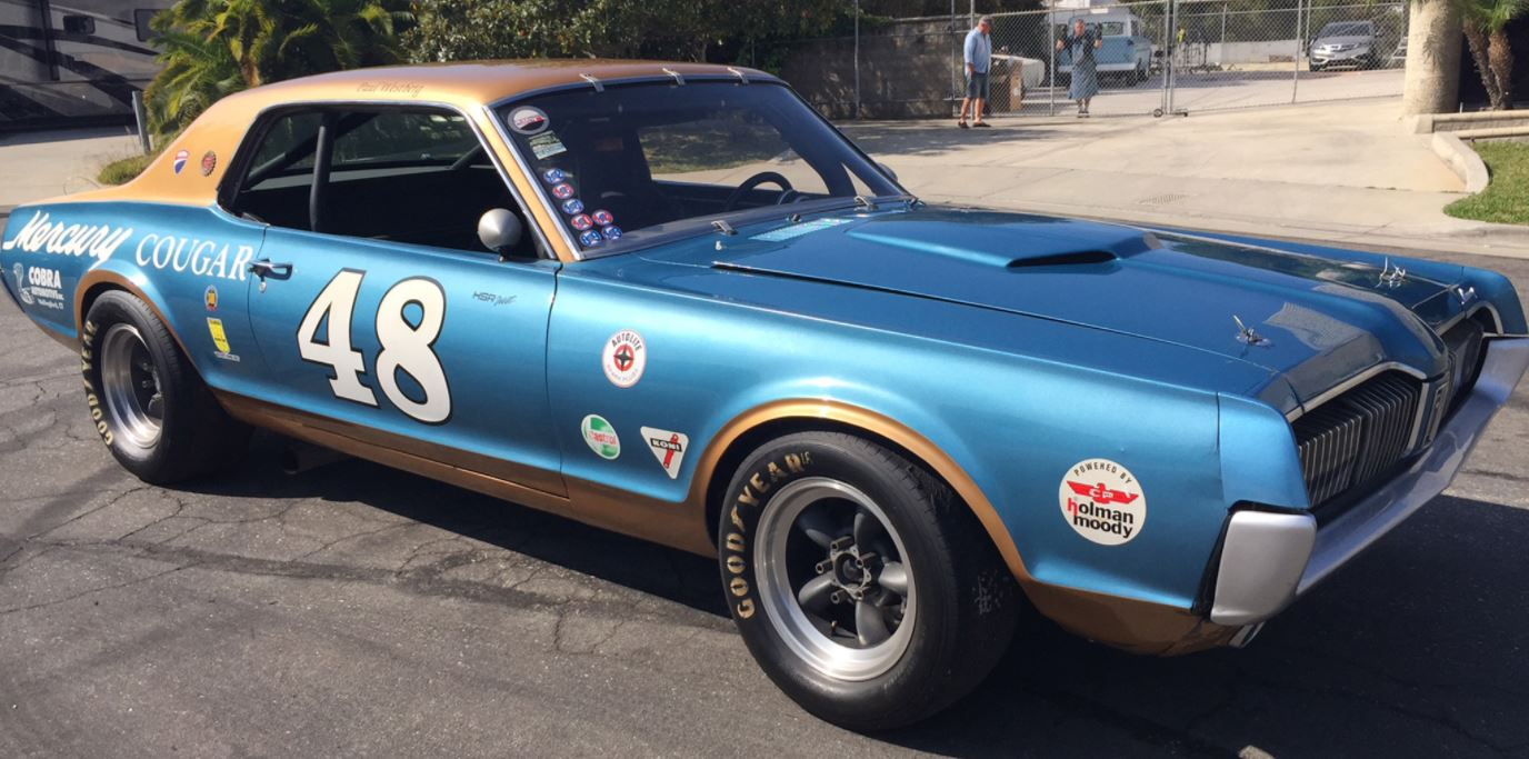 Just A Car Guy: \'68 Cougar Trans-Am tribute up for sale again. For a ...