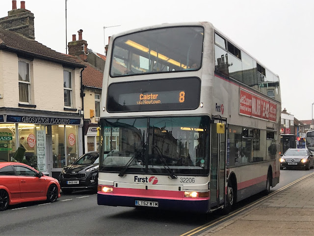 Volvo B7TL 32206 LT52WTM in service after a layoff