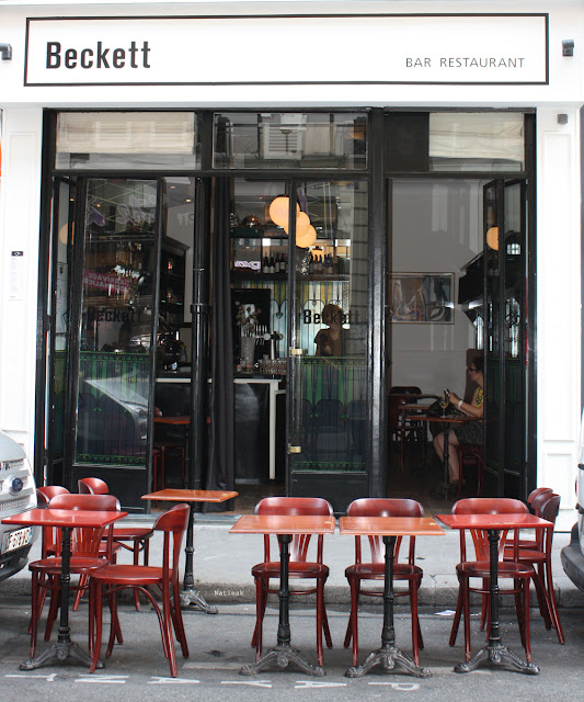Paris 9eme arrondissement   bar restaurant Beckett
